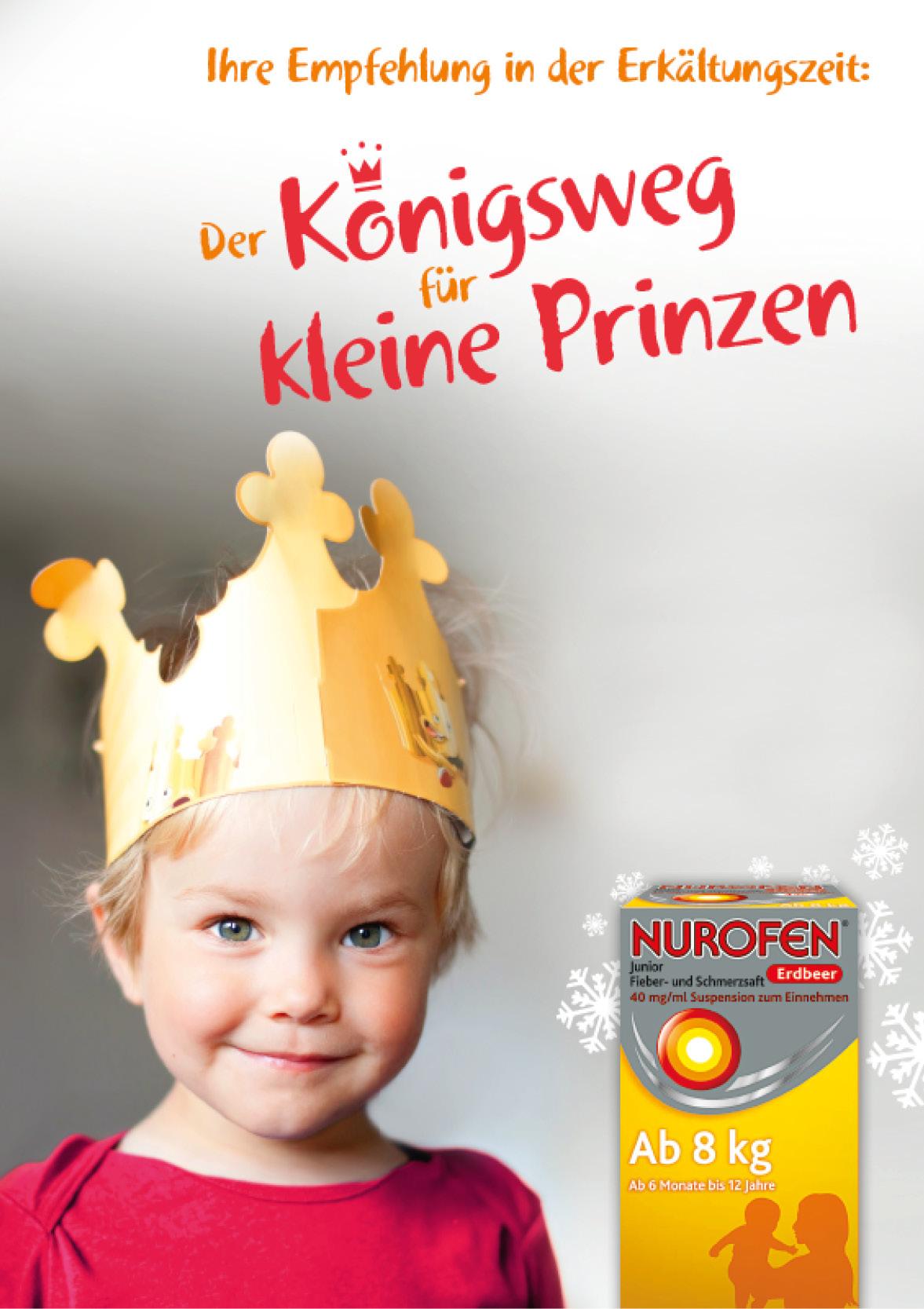 Reckitt Benckiser – Nurofen Junior Fieber- und Schmerzsaft